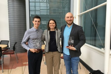 Kreeger Lab undergrads win awards for BME Undergraduate Design